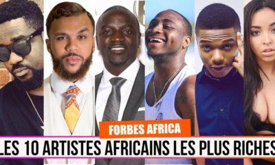 MUSICIENS D'AFRIQUE LES PLUS RICHES