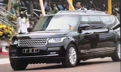 Président Camerounais bolide