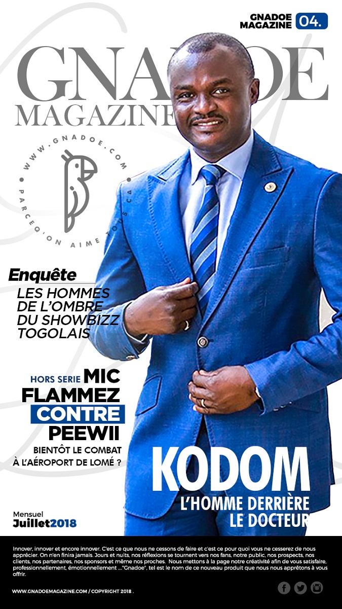 Gnadoe Magazine N4 Juillet 2018