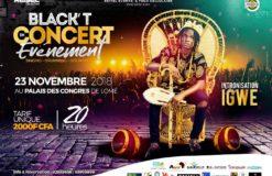 BlackT en concert le 23 novembre : Une date, un évènement, une intronisation.
