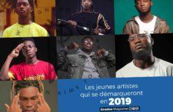 LES JEUNES ARTISTES A SUIVRE EN 2019!