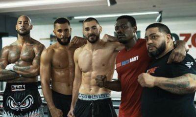 Vidéo : Booba et Benzema s'entrainent à la boxe ensemble
