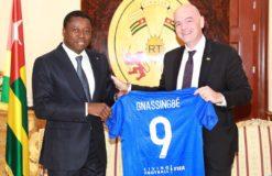 Les temps forts de la visite du Président de la Fifa à Lomé