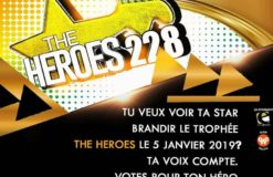 INTERVIEW DES ORGANISATEURS DES AWARDS « THE HEROES 228 »