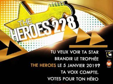 INTERVIEW DES ORGANISATEURS DES AWARDS «THE HEROES 228»