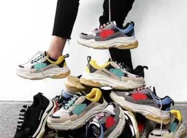 Les Dad Shoes, les nouvelles chaussures de référence dans la mode