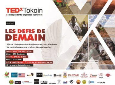 TEDx Tokoin Édition 2019: le rendez-vous est pris !