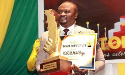 Togo Top Impact : Dr Kodom élu personnalité de l'année 2018