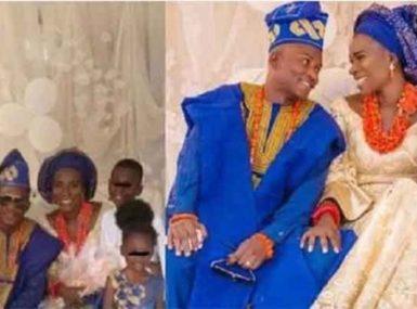 4 enfants, 3 ex-maris, elle est mariée aujourd'hui à un homme d'une famille royale