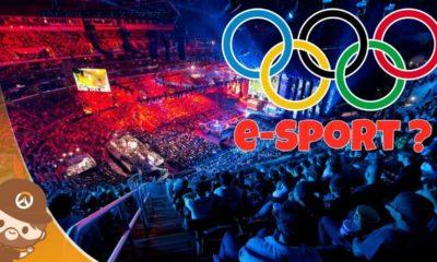 L'e-Sport fait désormais son entrée dans les Jeux Olympiques !