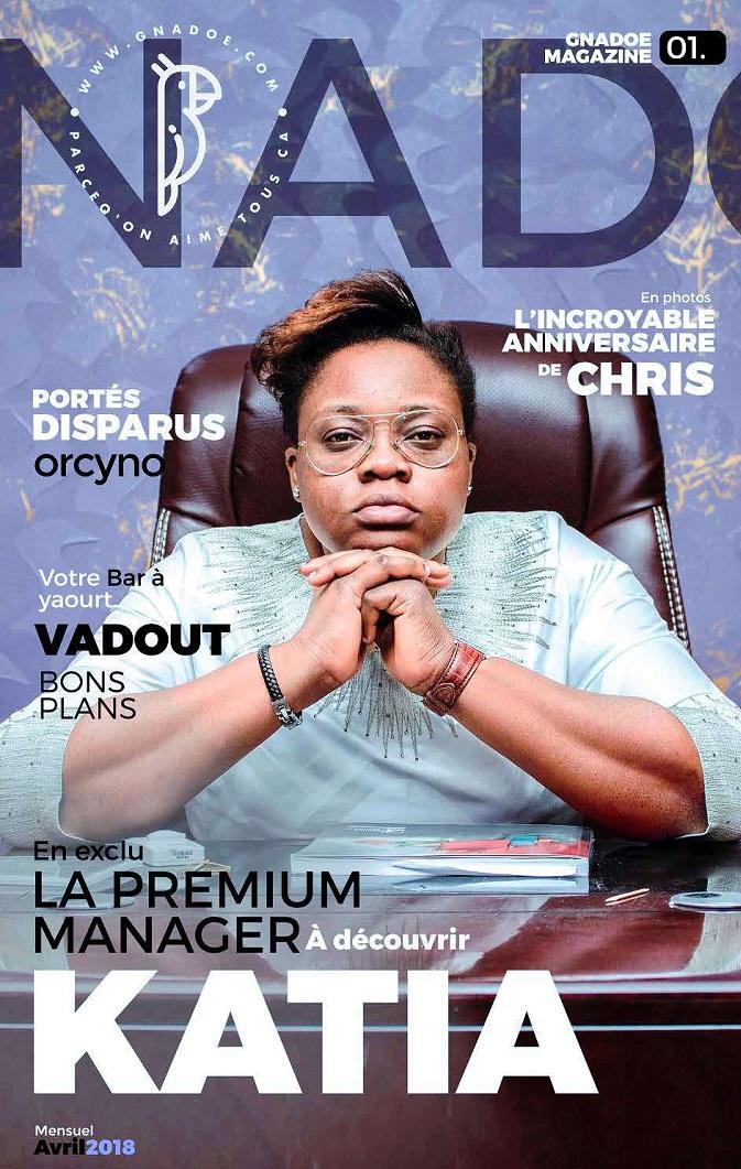 Gnadoe Magazine N1: Katia la Premium manager
