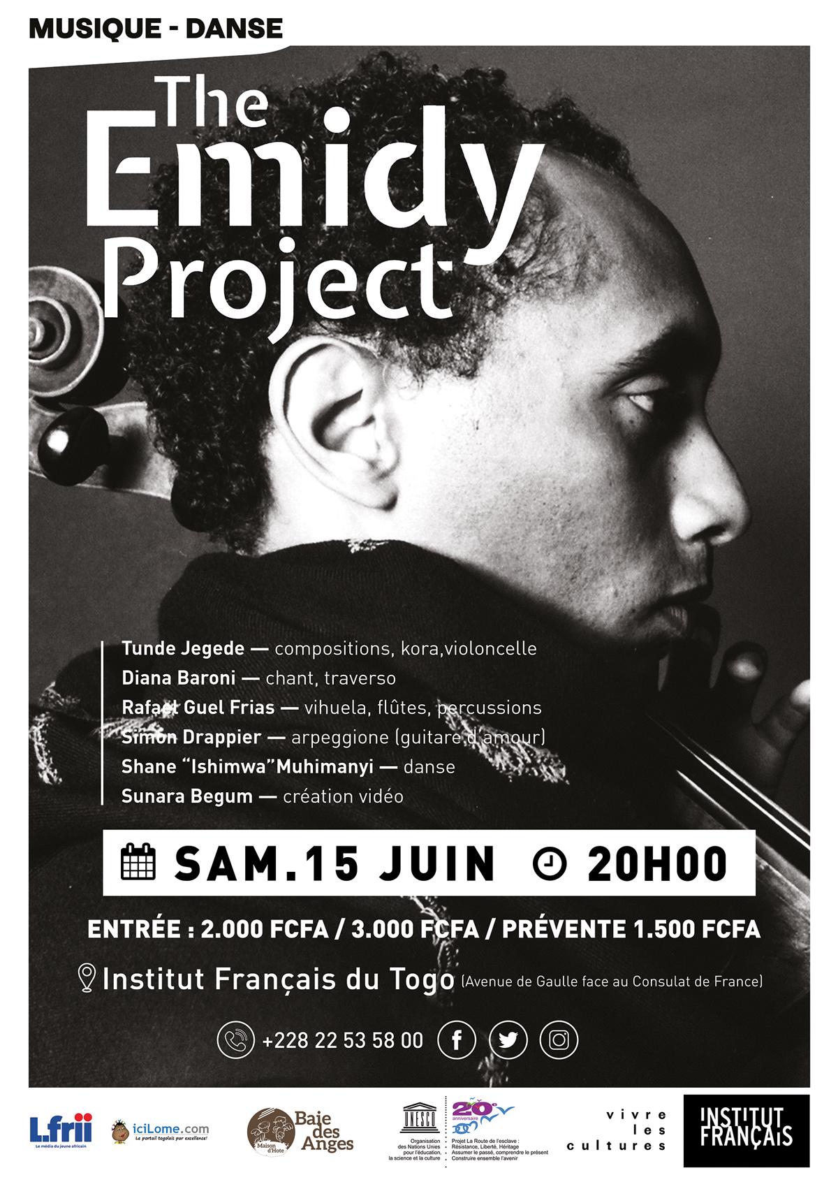 THE EMIDY PROJECT, l'histoire de l'esclave devenu chef d'orchestre !