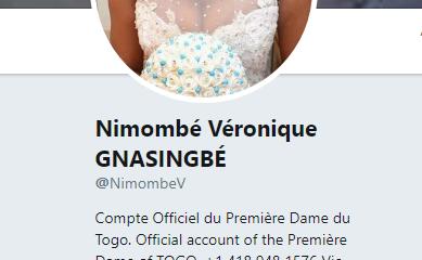 première dame du Togo arnaque