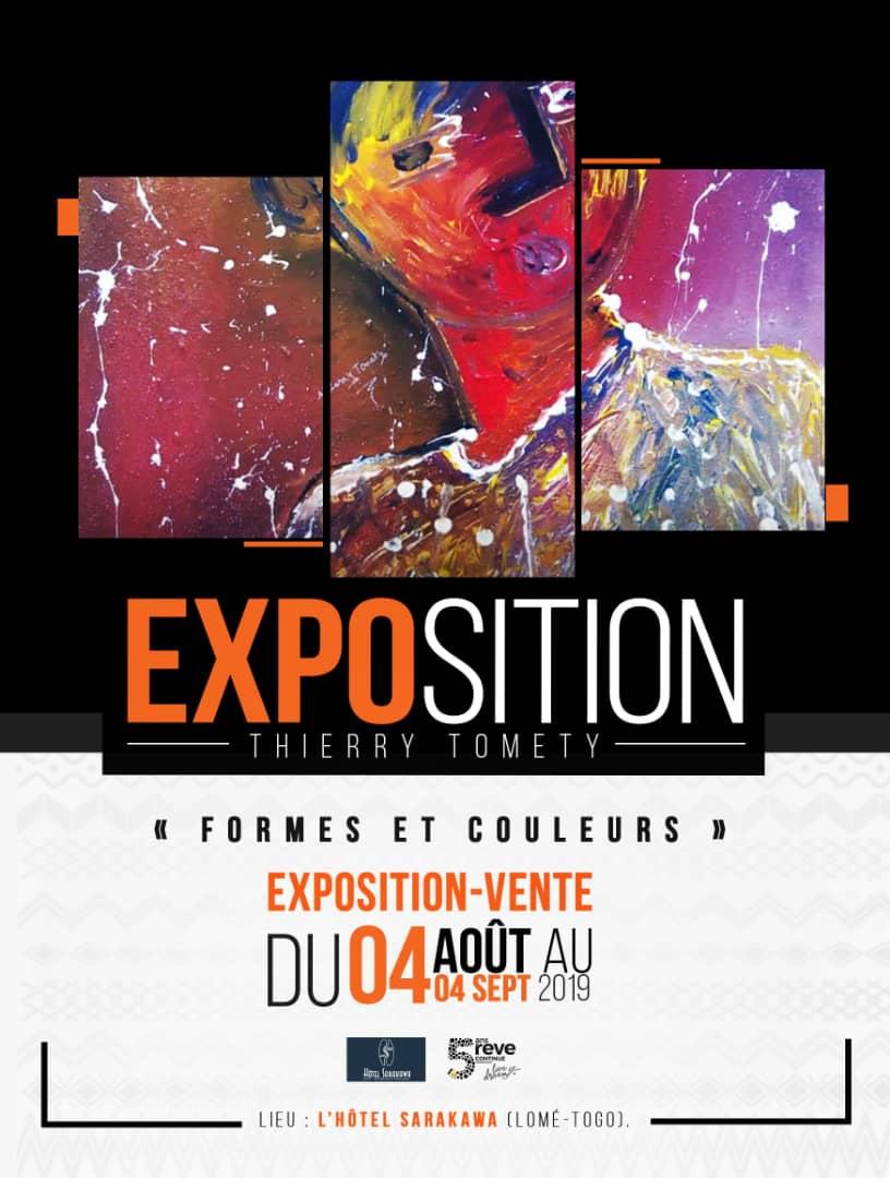Venez découvrir les Expositions « Formes et Couleurs » de Thierry Tomety !