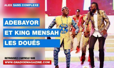 Alex sans Complexe Adébayor King Mensah