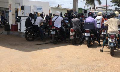 Pénurie d'essence à Lomé