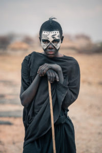 Looks Halloween Africaine