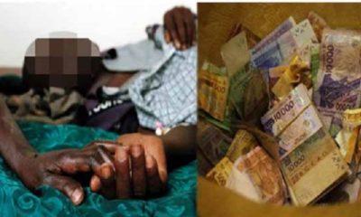 Avare, il meurt pour une ordonnance de 5000 fcfa: ses enfants retrouvent 8 millions dans son matelas