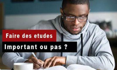 Faire des études, important ou pas ?