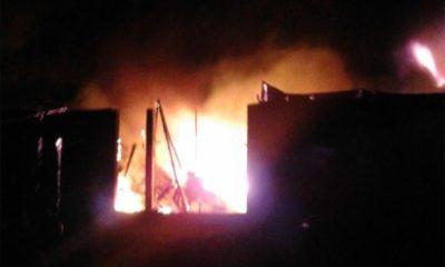 Togo : Incendie au grand marché ce matin, d'où provient le feu ?