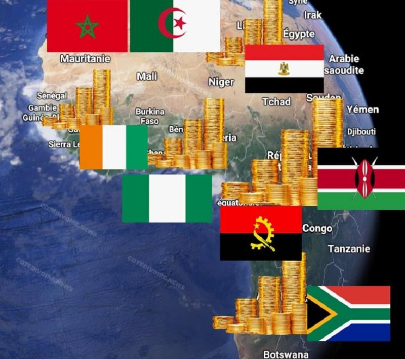 50 pays africains les plus riches en 2019, selon la Banque Mondiale