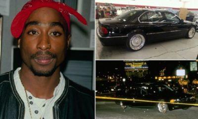2PAC : 24 ans après la fusillade, la BMW dans laquelle il a rendu l'âme est mise en vente