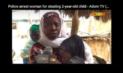 Cette jeune togolaise est accusée d'avoir voler un enfant de 2 ans au Ghana