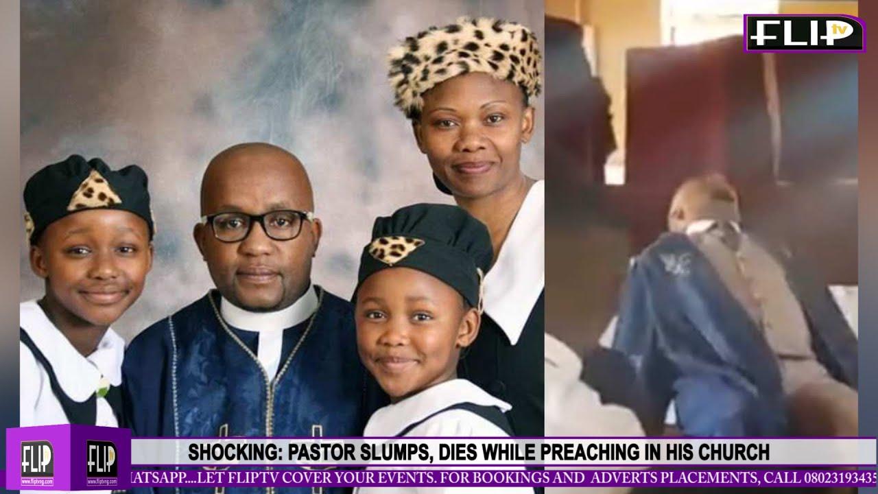 En plein culte, ce pasteur s'effondre et meurt, une leçon a tiré (Vidéo)
