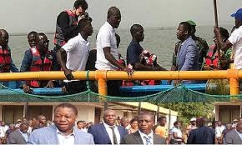 Togo: Que faisais le président Faure Gnassingbé dans cette pirogue? (Vidéo)