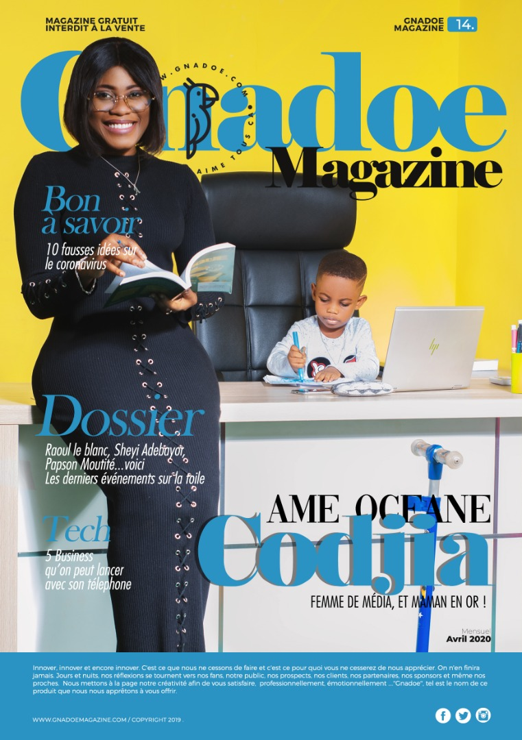 Gnadoe Magazine N14 Avril 2020