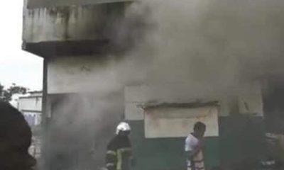 PDCI-RDA incendié