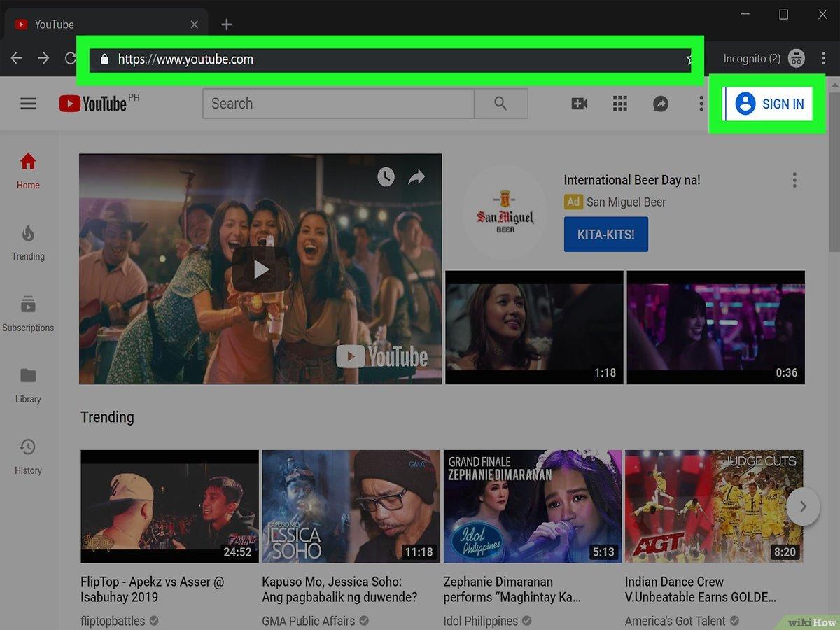 Enregistrer vidéo YouTube
