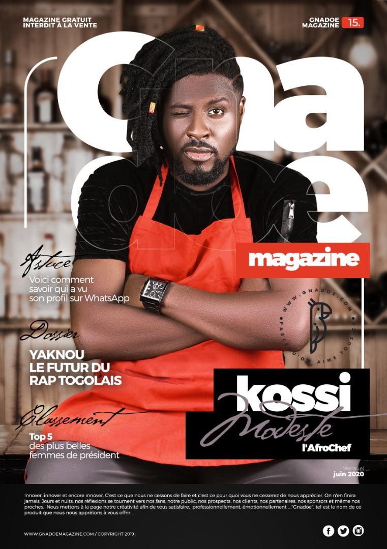 Gnadoe Magazine N15 Avril 2020
