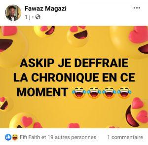 Bowyrude, Fawaz Magazi