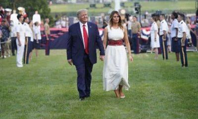 Cette vidéo montrant le malaise entre Donald Trump et sa femme crée le buzz sur la toile