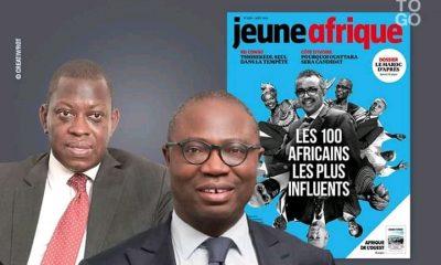 2 togolais dans la liste des personnalités les plus influentes d'Afrique