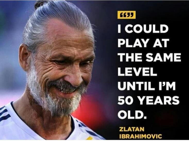 La dernière punchline incroyable de Zlatan Ibrahimovic