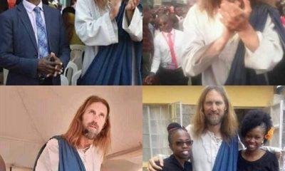 Kenya/insolite : Jésus descend du ciel pour honorer ce pasteur qui l'a invité (photos)