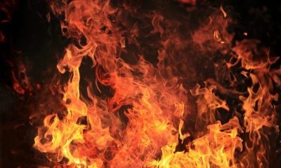 Homme brûle ses 2 enfants vifs