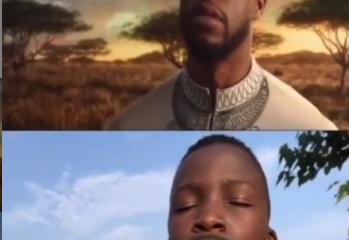 Mort de Black Planther : Le magnifique hommage des jeunes Ikoroko Bois à Chadwick Boseman