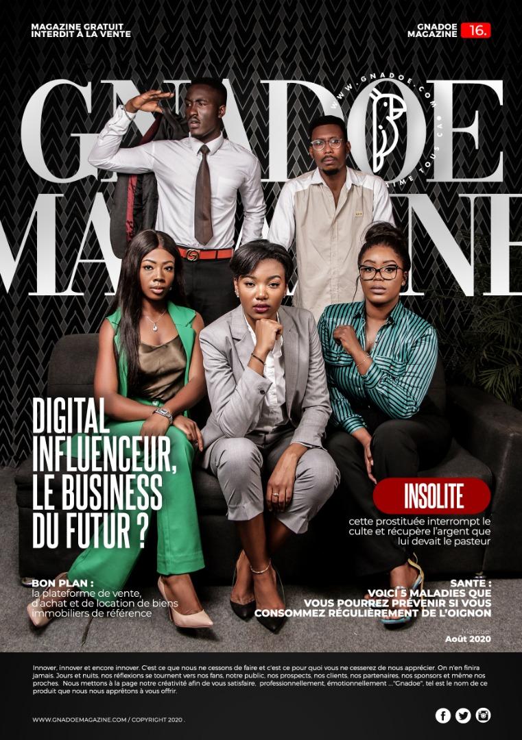 Gnadoe Magazine N16 Aout 2020