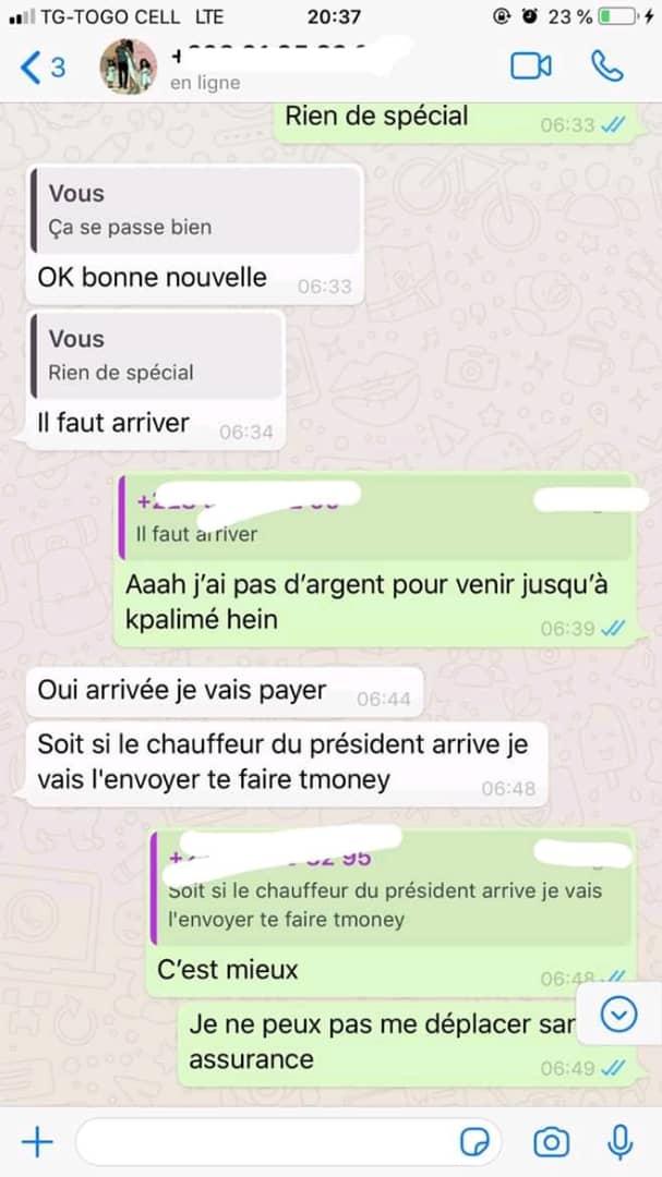 Togo : cette fille vient de donner une bonne leçon aux dragueurs ambulants (photos)