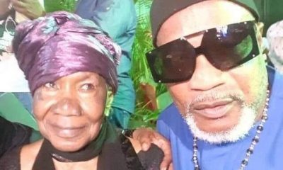 Koffi Olomidé et sa mère