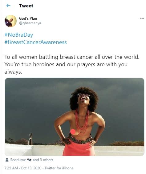 ournée sans soutien-gorge, les femmes publient les photos de leurs seins nµs