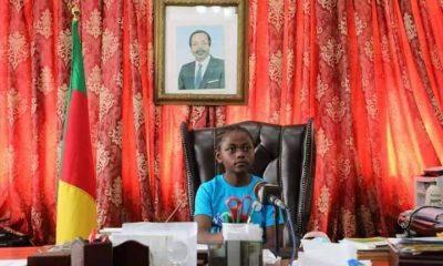 Ministre au Cameroun à 11 ans