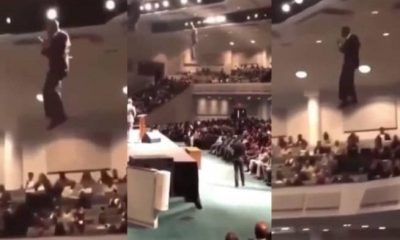 """Cette vidéo d'un pasteur """"descendant du ciel"""" choque la toile"""