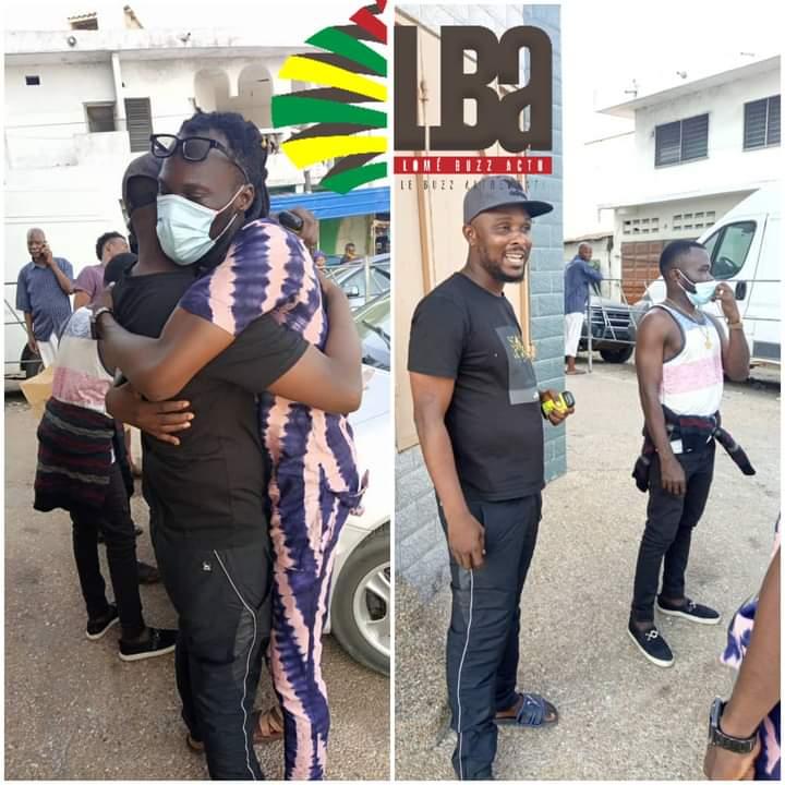 Togo/Affaire Doc Farel : le rappeur vient d'être remis en liberté après son arrestation pour vol présumé (photos)