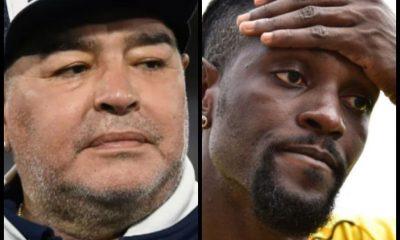Mort de Diego Maradona : Adebayor rend hommage