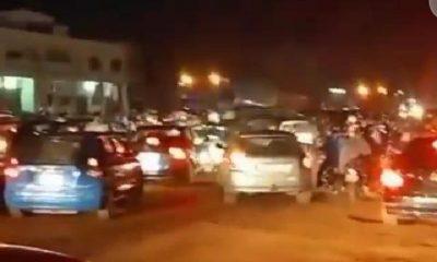 Embouteillage adidogomé couvre-feu