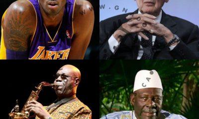 Grandes personnalités décédées en 2020